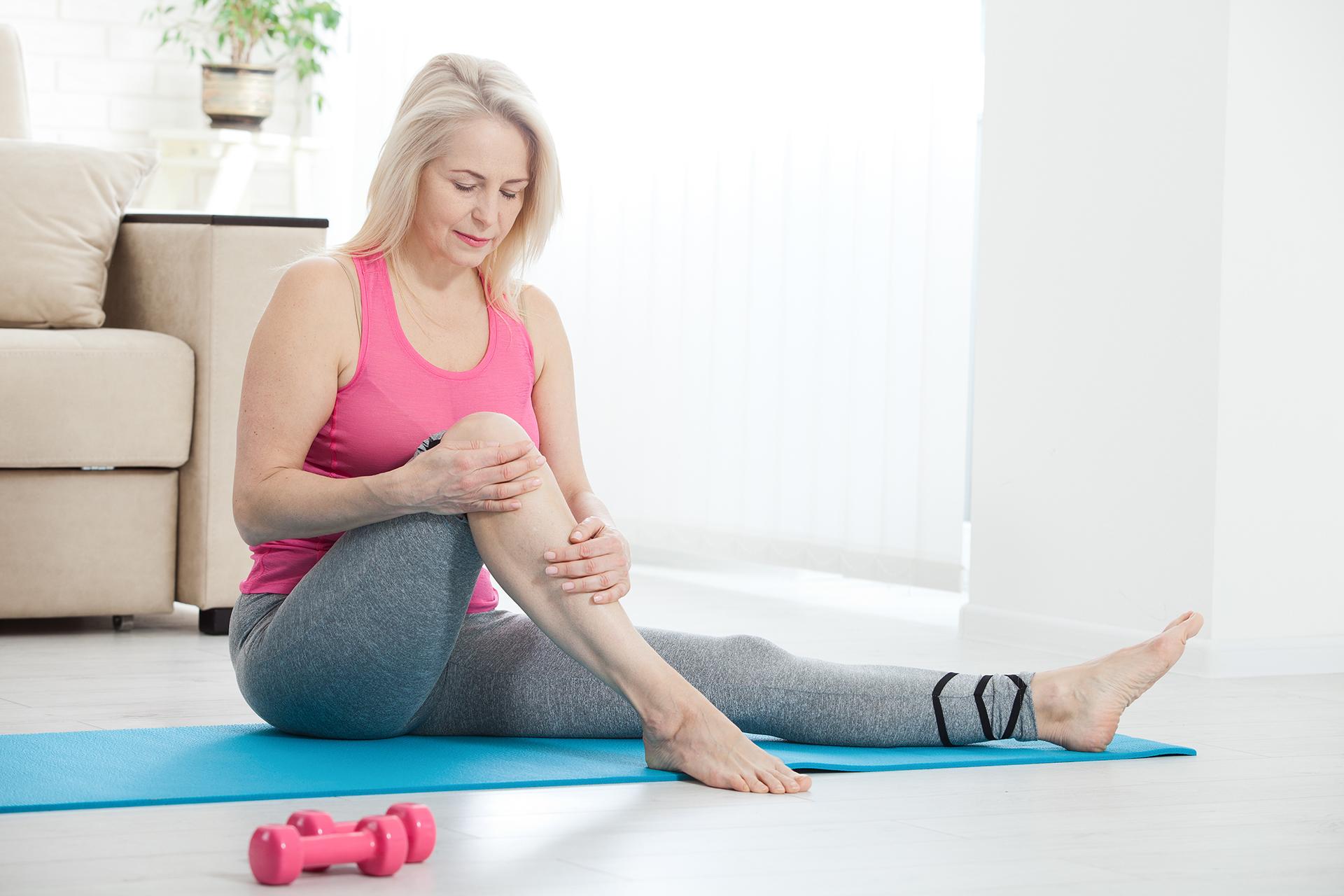 Knee pain when bending knee